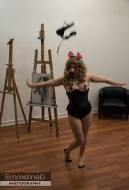 A very strange, but hilarious burlesque act