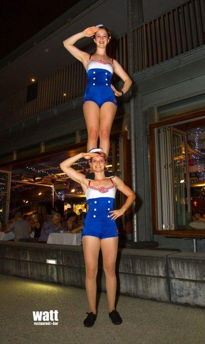 Duo sailer girls